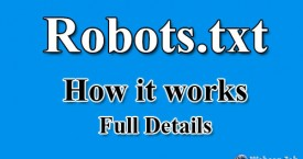 Add Robots.txt File into Website with Full Detail Analysis
