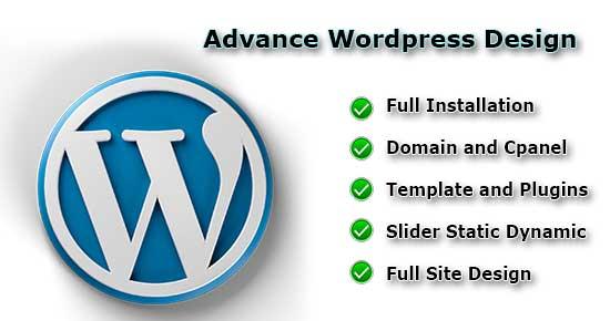 advance-wordpress-design-webson-job