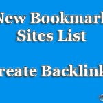 30 New Social Bookmarking Sites List for Strong Backlink