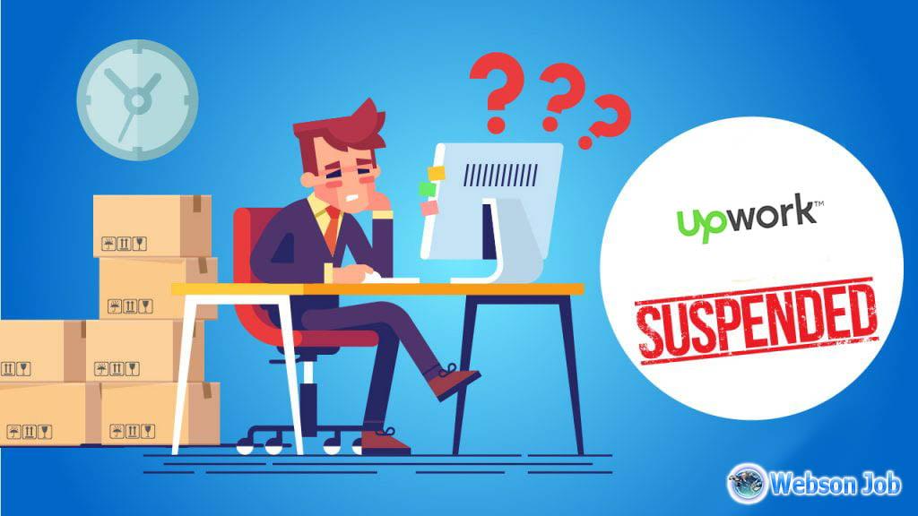 upwork account suspended