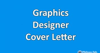 graphics designer cover letter sample for upwork