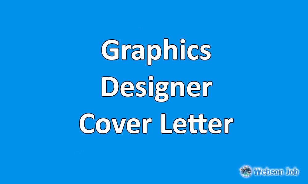 Graphics Designer Cover Letter Sample and Format for Upwork - Webson Job