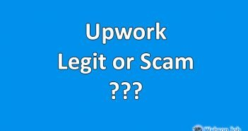 is upwork legit? or upwork scams?
