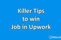tips to get a job in upwork