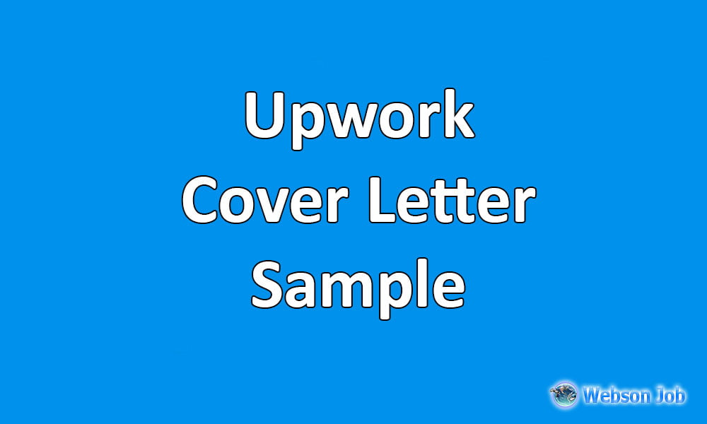 Upwork cover letter samples examples and format spiritdancerdesigns Gallery