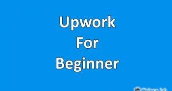 upwork for beginner