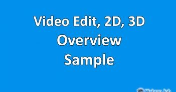 Upwork Profile Overview Sample for Video Editor, 2D, 3D, Animation