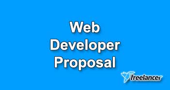 Web Developer Proposal